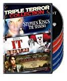 Triple Terror Collection (Stephen King's The Shining (1997) / It (1990) / Salem's Lot (2004)) Image