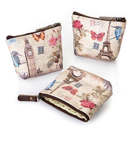 Monedero para mujer Vintage - Pack de 6 unidades: Amazon.es ...