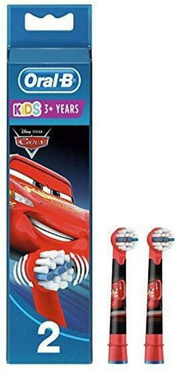 Braun Oral-B cabezales Stages Power Kids Cars Pack de 2 cabezas de ...