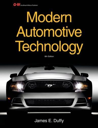 By James E. Duffy Modern Automotive Technology Workbook (Eighth Edition, Workbook)