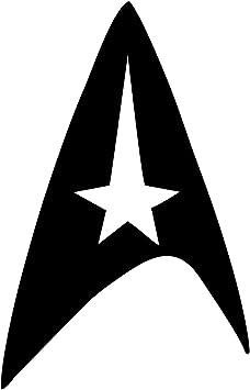 "Star Trek Command Fleet Insignia Badge 6/"" Vinyl Decal Car Window Sticker v1"