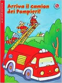 Arriva il camion dei pompieri! Macchinina gioca con me. Con gadget