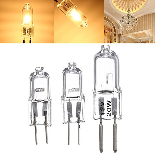 Led Light Bulbs - Halogen Light Bulbs Bulb 120v Xenon Watt Kitchen - G5.3 20w 35w 50w Bi-Pin Light Bulb Halogen Lamp Warm White 12v - Halogen Light Bulbs - 1PCs