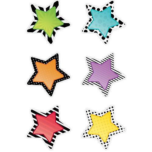 Cardboard Stars - Creative Teaching Press Bold & Bright