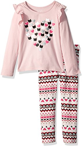 The Children's Place Baby Girls' Top and Leggings Set, Serene Blush 85469, 3T from The Children's Place