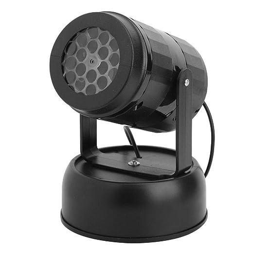 Huakii Proyector LED de Copo de Nieve, luz de Efecto de Escenario ...