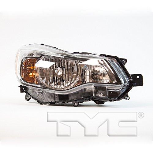 TYC 20-9303-00-1 Subaru Replacement Right head Lamp