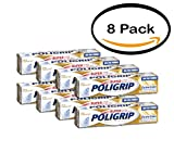 PACK OF 8 - Poligrip Super Extra Care Denture Adhesive Cream, 2.2 OZ