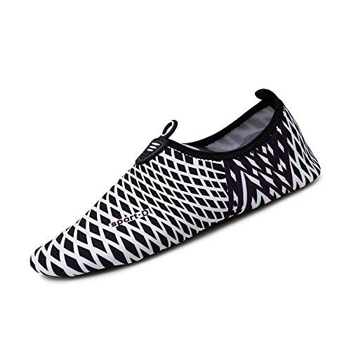body 4 esquí y y de zancudas secado acuático transpirable blanco en negro piel zapatillas de surf building zapatos zapatos SK rápido playa zapatos Nadar de Lucdespo SqfFA1X0