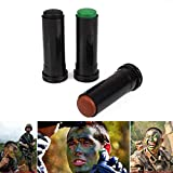 Confront Blusher Cling - 3pcs Box 3 Color Body Painting Military Enthusiast Outdoor Field Bionic Oil Camouflage - Typeface Stay Expression Wedge Cheek Nightstick Font Sting