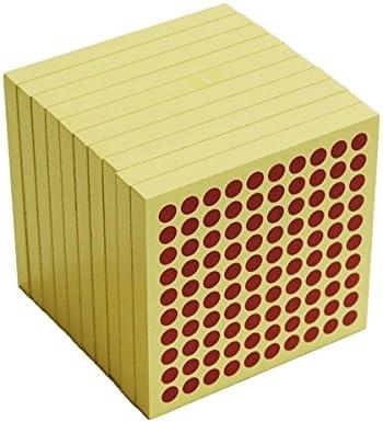 45 Montessori Wooden Hundred Squares
