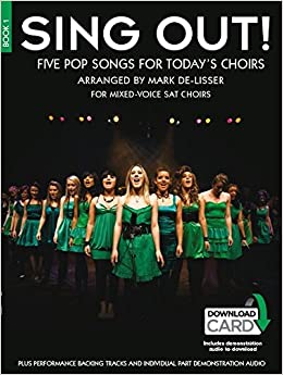 Sing Out! 5 Pop Songs For Today's Choirs - Book 1: Amazon co uk