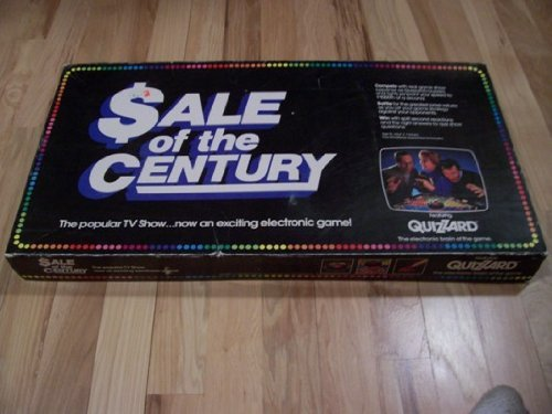 Sale Of The Century Quizzard Board Game