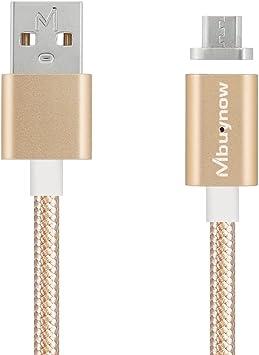 Mbuynow Cable Micro USB Carga Rápida de Nilón 3A/ 3.3 pies: Amazon ...