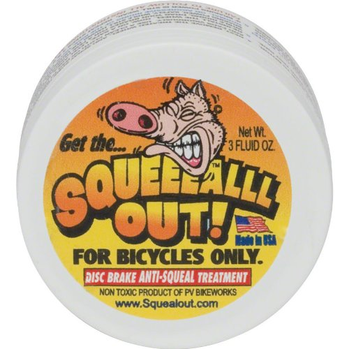 Squeal Out Anti-Squeal Disc Brake Paste: 3oz Jar by Squeal