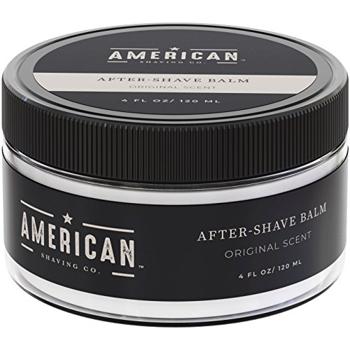 - American Shaving After Shave Balm For Men (4oz) - Original Masculine Scent - 100% Natural Moisturizing Aftershave Lotion - Best Aftershave For Men to Soothe & Hydrate Dry Skin (Packaging May Vary)
