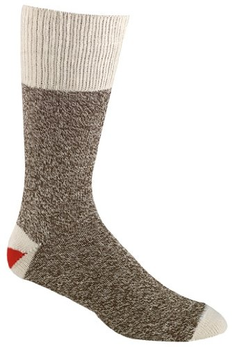 Kids Brown Original Rockford Red Heel Socks ()
