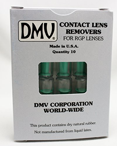 DMV Classic Vented Contact Handler – Inserts and Removes Hard and RGP Contact Lenses – Box of 10