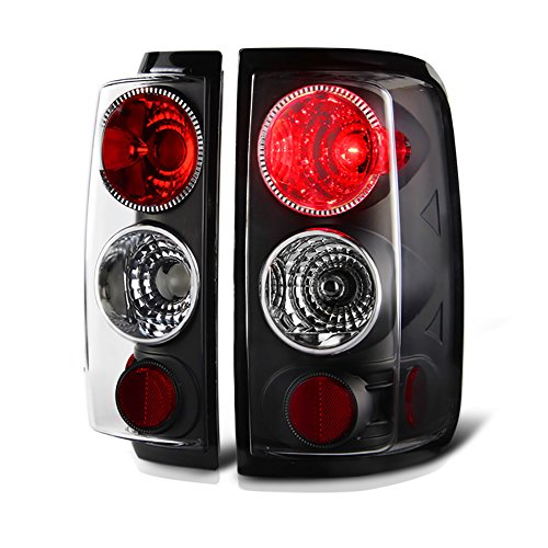 VIPMOTOZ Altezza Euro Style Tail Light Lamp For 2004-2008 Ford F-150 - Black Housing, Driver and Passenger Side