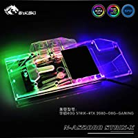 Bykski N-AS2080STRIX-X GPU Water Cooling Block for ASUS ROG Strix RTX2080 O8G Gaming