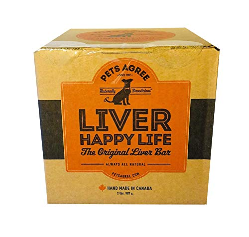 (Pets Agree Liver Dog Biscuits Large )