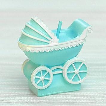Amazon.com: Baby Pram Candle Mini Buggy Birthday Cake Topper Baby ...