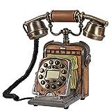 FADACAI Antique Telephone Old Camera Phone Call Display Complex Antique Phone 242613cm