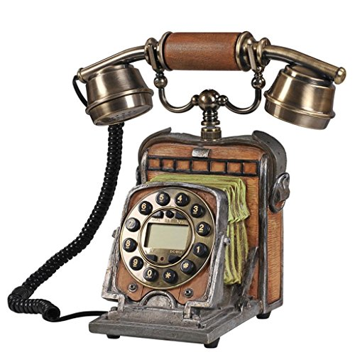 FADACAI Antique Telephone Old Camera Phone Call Display Complex Antique Phone 242613cm by WANG