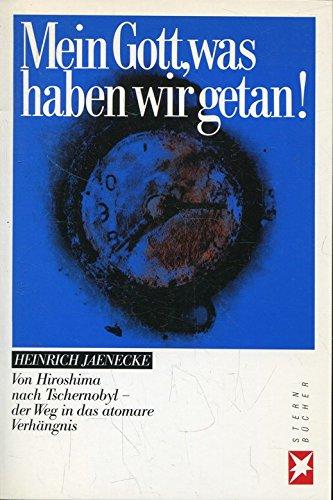 Mein Gott, was haben wir getan!: Der Weg ins atomare Verhängnis (Stern-Bücher)
