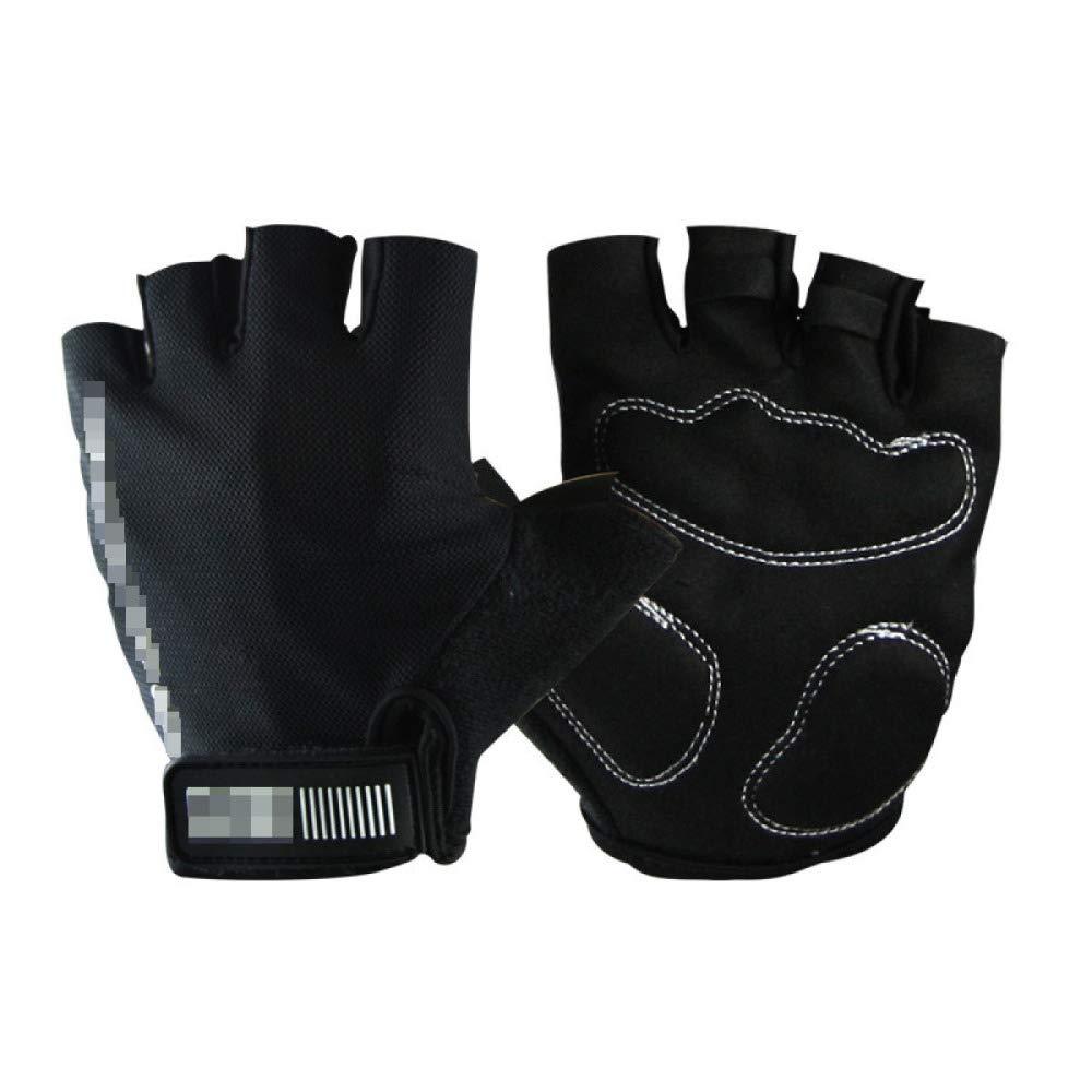 YIWANGO Halbe Fingerhandschuhe Für Herren Outdoor Radfahren Fitness Skid,4-XL