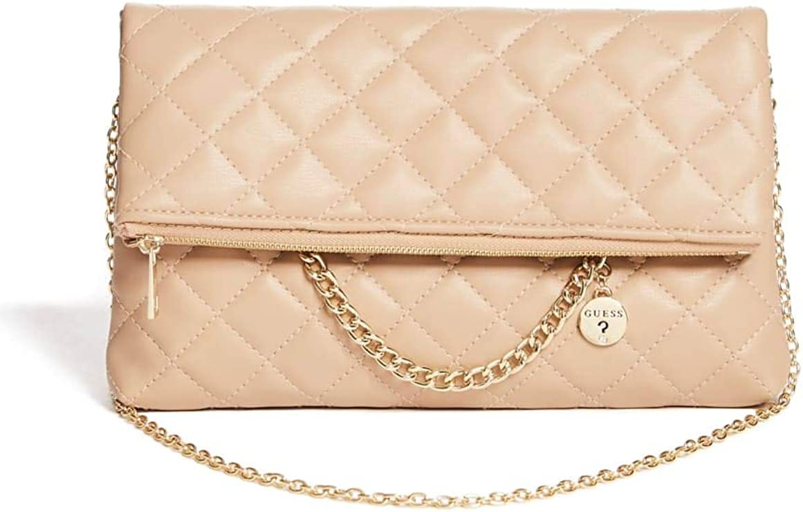 GUESS Factory Starry Dressy Foldover Clutch