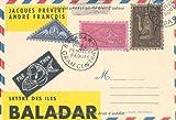 Lettre des îles Baladar