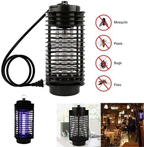 iMounTEK Powerful Electric Bug Zapper LED Trap Lamp. UV Light Insect Killer Mosquito Eliminator Repellent Killer Trap, Indoor/Outdoor Use Lantern-Flies/Gnats/Pests- Residential/Commercial/Industrial