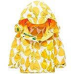 Kedera Kids Girls Rain Jacket Waterproof Raincoat Hooded Softshell Outwear