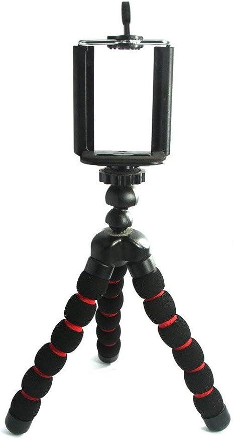 Mini Trípode Portátil Flexible Universal para Teléfonos Cámara ...