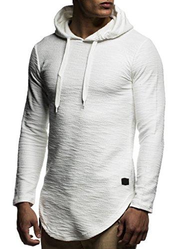 Longsleeve Hoodie Avec Ln6300 Capuche Leif Nelson Ecru Pour À Hommes Des Sweater Pull Sweatshirt Pullover 4xzwaq1R