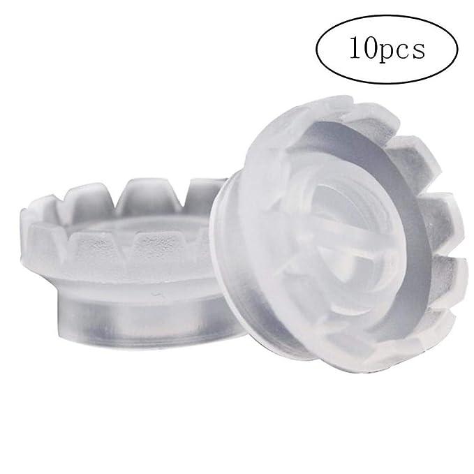 10pcs De La Pestaña Anillos Vaso Desechable De Plástico Tatuaje ...