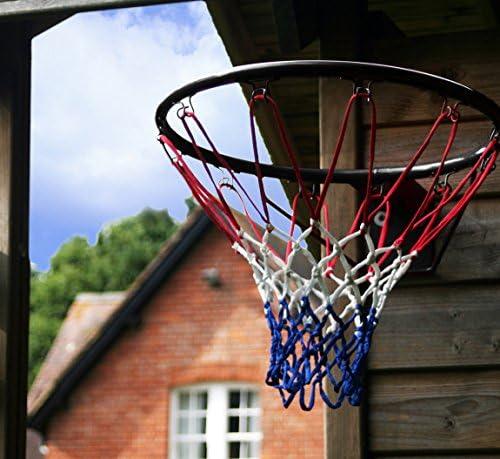 Tamaño oficial (45 cm) anillo de baloncesto, aro red y montaje en ...
