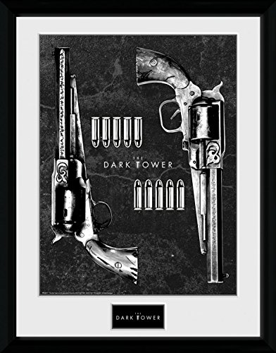 - The Dark Tower Framed Collector Poster - Guns (16 x 12 inches)