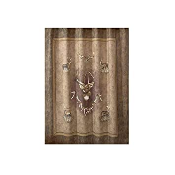 Image Unavailable Not Available For Color Whitetail Ridge Deer Shower Curtain