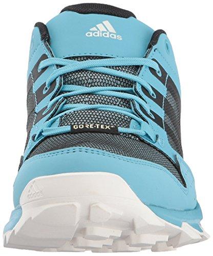 Adidas Extérieure Femmes Kanadia 7 Gore-tex Trail Chaussure De Course Vapeur Bleu / Noir / Clair Aqua