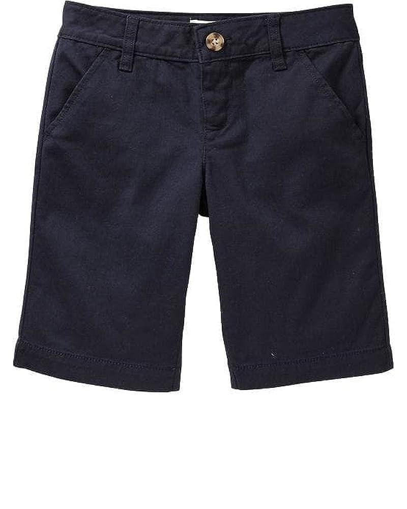 Back to School Sale Skinny Uniform Navy Color Bermudas for Girls !