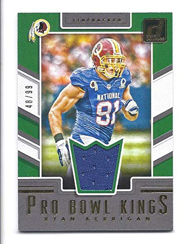 new style 1a924 70e98 RYAN KERRIGAN 2017 Donruss Pro Bowl Kings #29 JERSEY Card ...