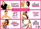 Romantic Boxset - 27 Dresses, Life Or Something Like It, What Happens In Vegas, Bride Wars, Down With Love and...