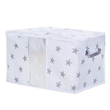 Faltbare Lagerung Tasche Kleidung Decke Quilt Schrank Pullover Organizer Box Klein- & Hängeaufbewahrung