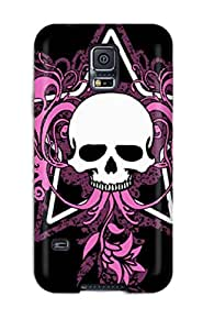 Ideal CaseyKBrown Case Cover For Galaxy S5(attractive Girly Skull), Protective Stylish Case