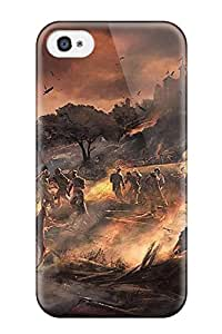 Iphone 4/4s Case Slim [ultra Fit] Assassin's Creed Brotherhood Artwork Protective Case Cover