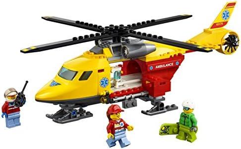LEGO- City EliAmbulanza, Multicolore, 60179