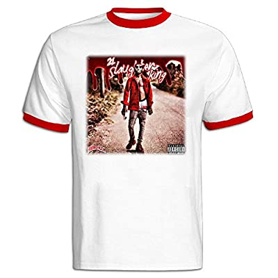 Men's Vintage 21 Savage Savage Mode Ft. Future Uploaded Cotton T-Shirt
