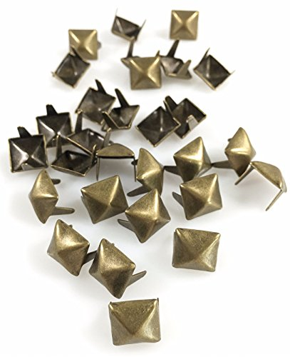 "Nailheads Spots Studs 2 Prong 3/8"" Square; Steel with for sale  Delivered anywhere in USA"